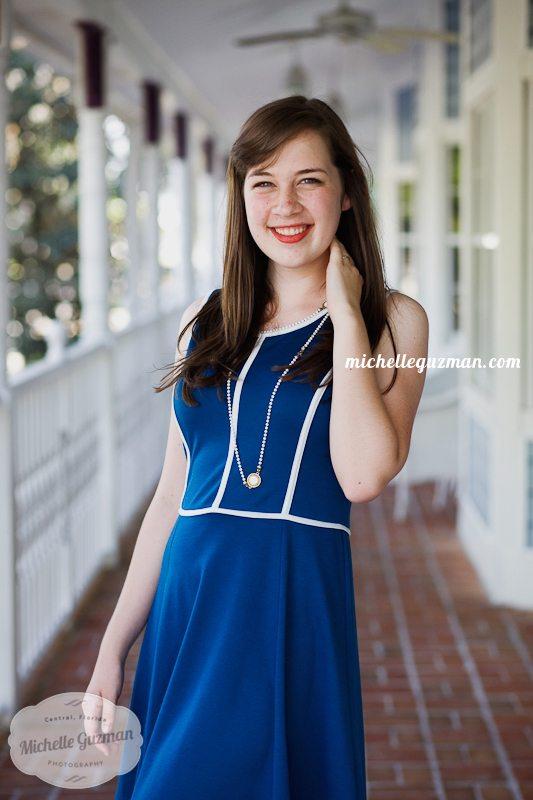 Longwood High School Senior Photo