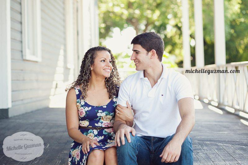 Longwood Engagement Photo