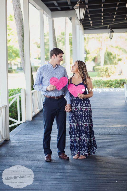 Love engaged Orlando