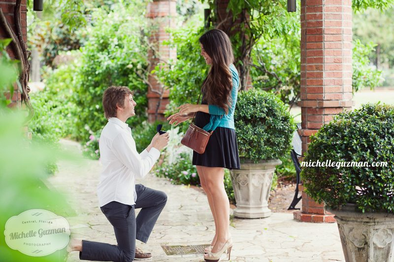 Surprise Proposal – Winter Park Photographer