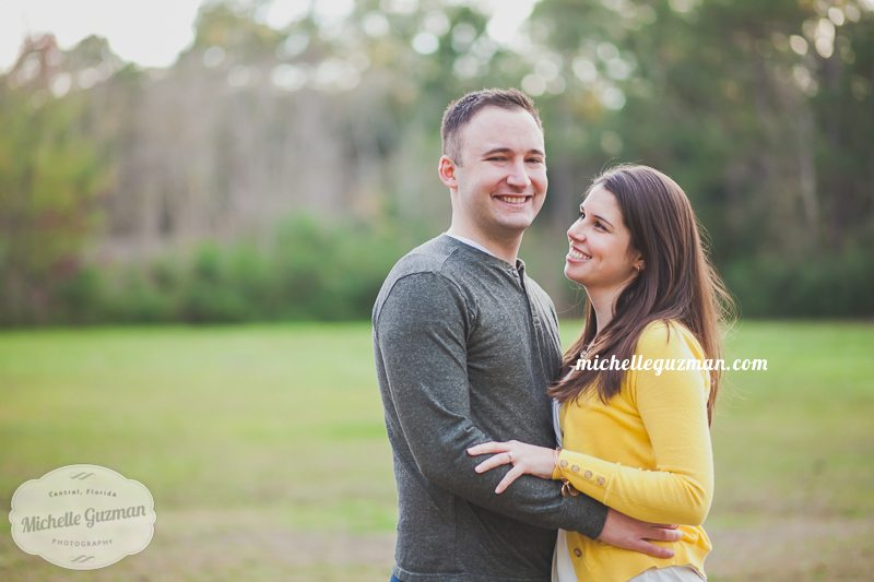 Lake Mary Photographer :: Engagement Session with Megan and Cameron