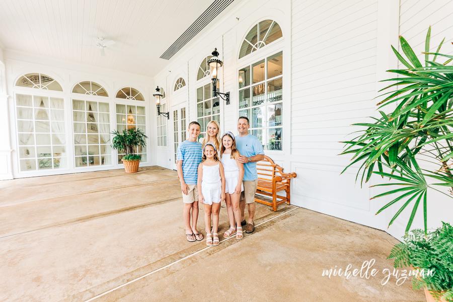 Disney Grand Floridian Family Photography