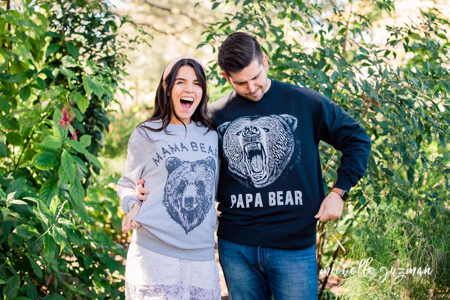Papa Bear and Mama Bear Announcement