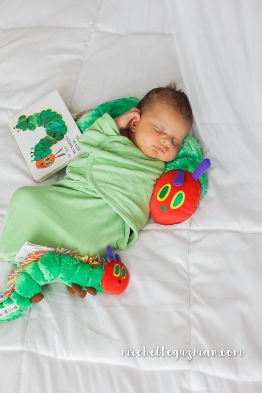 Lake Mary Newborn Photographer :: The Very Hungry Caterpillar